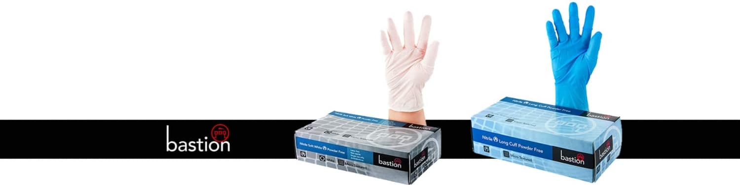 Bastion gloves banner buy disposable gloves online victoria seaford