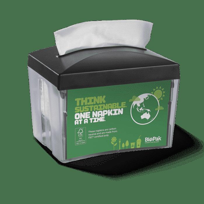 Single Saver BioDispenser Table Top Individual Unit Napkin Dispenser