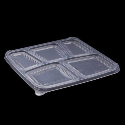 takeaway container, food packaging, compartment tray, plastic tray, plastic food tray, biopak food packaging, biopak container