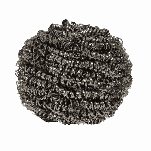 metal scourer, metal scrub, kitchen scourer, kitchen scrub, kitchen cleaning,