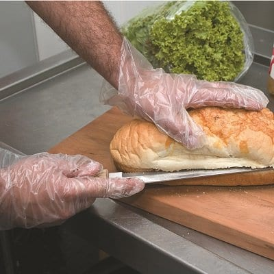 food handling glove, pvc glove, clear glove, plastic glove, kitchen glove, food safety glove
