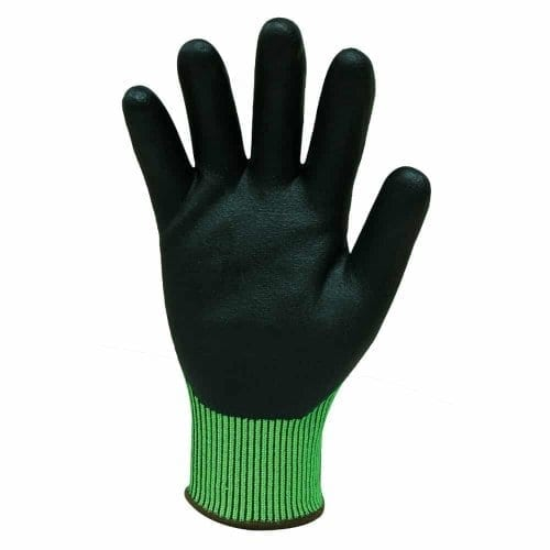 bastion soroca glove, bastion glove, green glove, oh&S gloves, safety gloves, workplace gloves