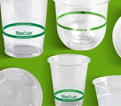 BioPak Clear Cups