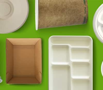 BioPak Plates, Bowls and Trays