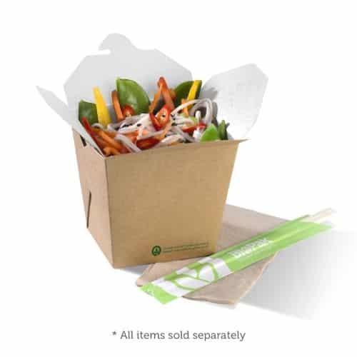 Paper Noodle Box BioBoard Noodle Box BioPak Noodle Box