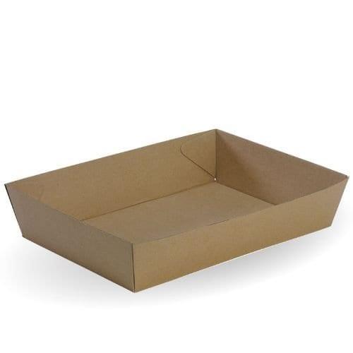 BioBoard Paper takeaway tray