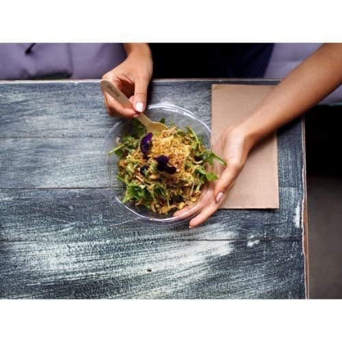 biobowl salad bowl clear bowl takeaway bowl