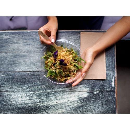 biobowl salad bowl clear bowl takeaway bowl