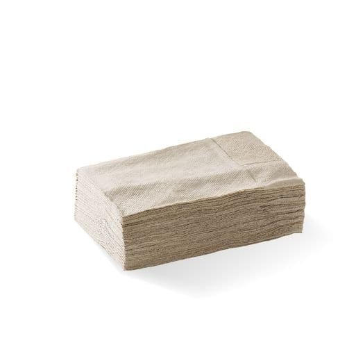 1 ply compact dispenser napkin (D Fold) – FSC® mix – natural