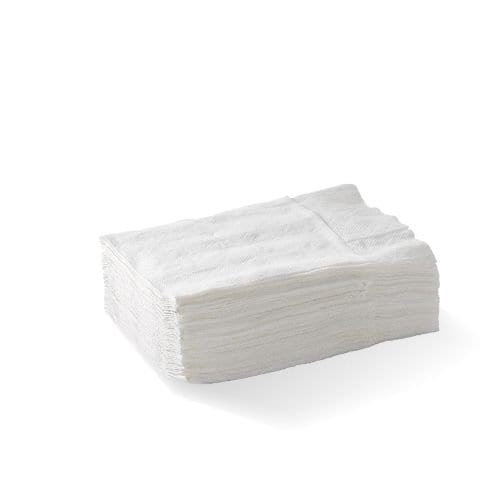 1 ply compact dispenser napkin (D Fold) – FSC® mix – white