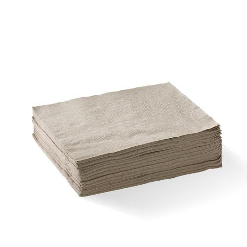 1 Ply 1/4 Fold Natural Lunch Napkin