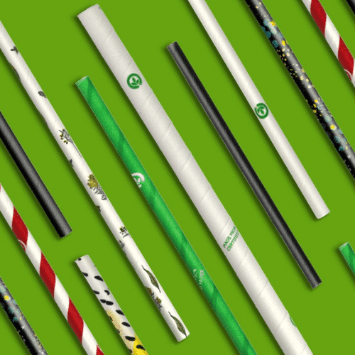 Paper straws are plastic-free and practical