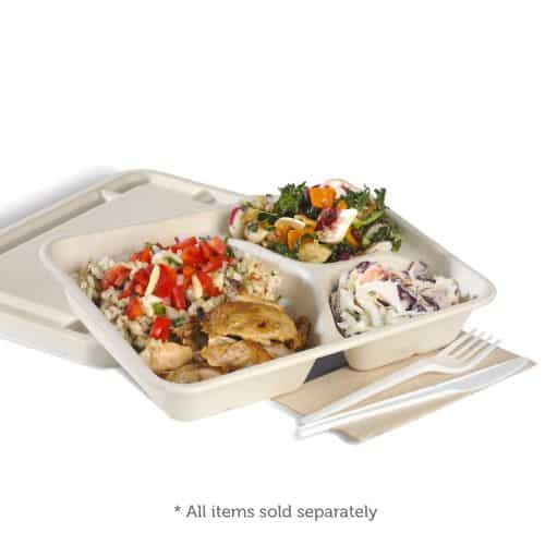 COMPARTMENT TAKEAWAY CONTAINER