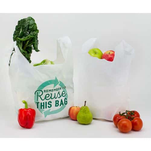 Reusable singlet bag
