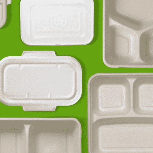 SUGARCANE RECTANGLE TAKEAWAY CONTAINERS