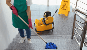 Using products fit for purpose - cleaning and safety